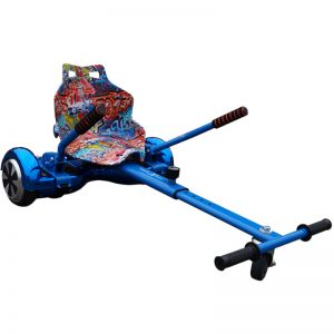 graffiti blue hoverkart
