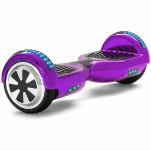 chrome purple hoverboard