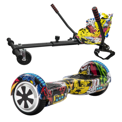 hip hop yellow hoverboard