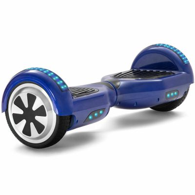 classic blue hoverboard