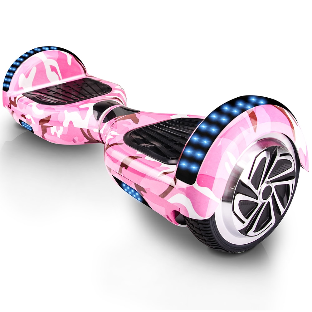 Camo Pink Bluetooth Led Arch Hoverboard Swegway