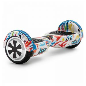 graffiti white hoverboard