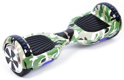Camo Green Bluetooth LED Arch Hoverboard Swegway