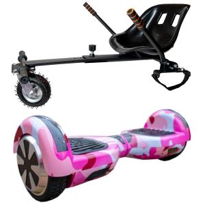 camo pink hoverboard bundle