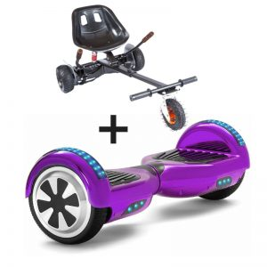 purple hoverboard bundle