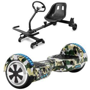 camo green hoverboard bundle