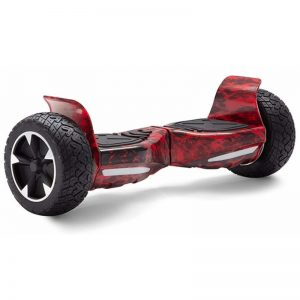 red flame hoverboard