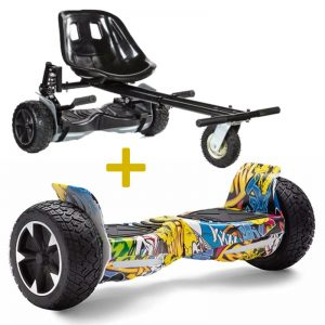 hummer monster hoverboard bundle