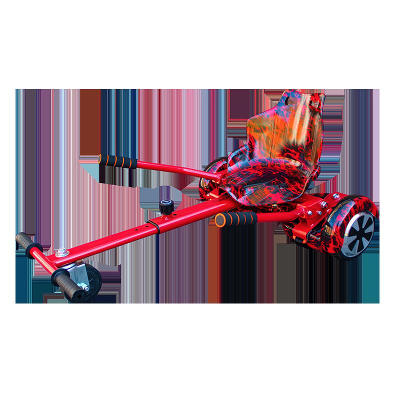 red hoverboard bundle