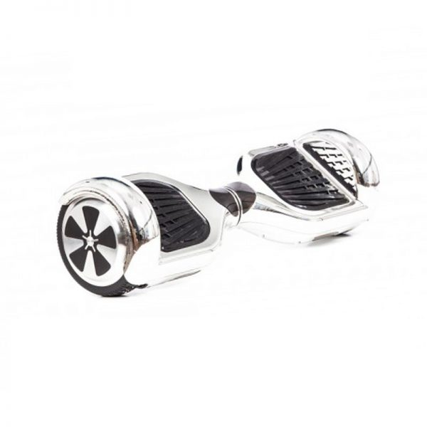 Chrome Silver Hoverboard Swegway