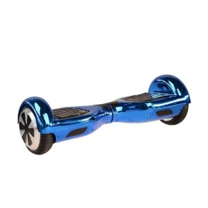 Chrome Blue Bluetooth Hoverboard Swegway