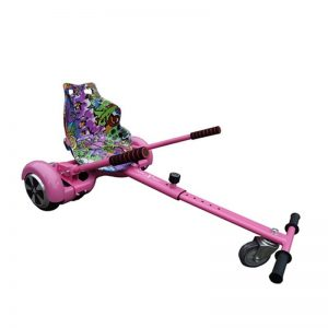 Racer Hoverkart Graffiti Purple