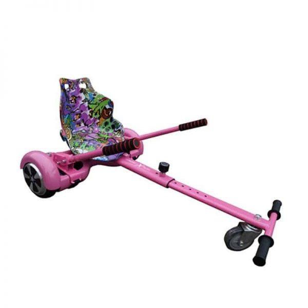 Racer Hoverkart Pink