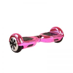 Chrome Pink Bluetooth Hoverboard/Swegway