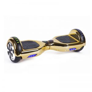 Gold Chrome Hoverboard Swegway