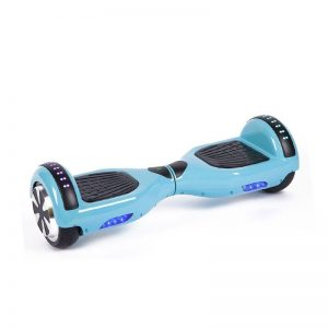 Classic Light Blue Bluetooth Led Arch Hoverboard Swegway