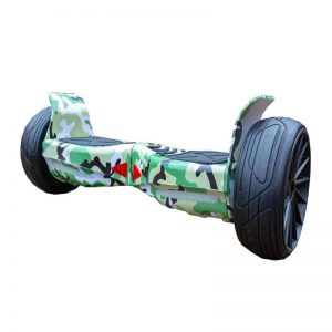 Military Green Fly Wheels Off Road Hoverboard Swegway 8.5 Inch All Terrain