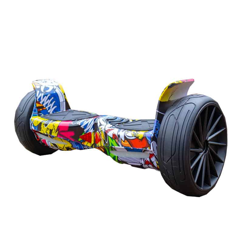 Hip Hop Yellow Fly Wheels Off Road Hoverboard Swegway 8.5 Inch All Terrain