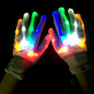 Led Light Up Gloves Flashing Gloves