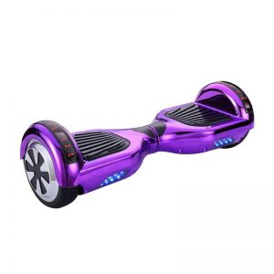 Chrome Purple Hoverboard Swegway