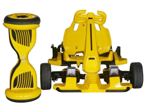 "10"" Hoverboard Yellow Monster Electric Go Kart Car"