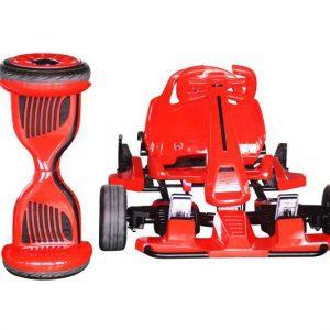 "10"" Hoverboard Red Monster Electric Go Kart Car"