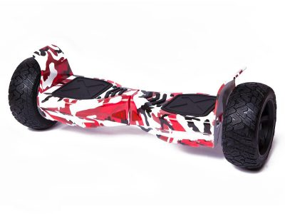 """Red Camo Off Road 8.5"""" Hoverboard Swegway Bluetooth"""