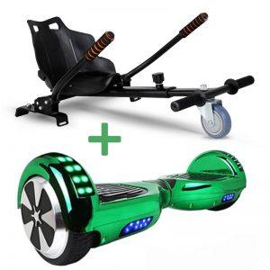 green hoverboard bundle