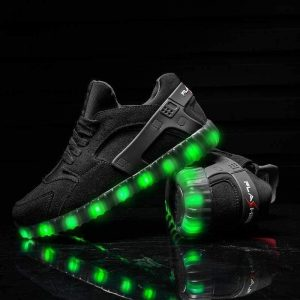 Flashez Black Led Light Hurricanes