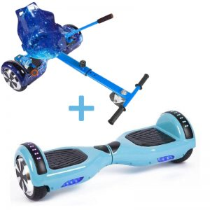 baby blue galaxy hoverboard