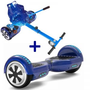 blue hoverboard bundle