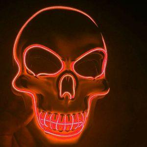 LED Skull Mask
