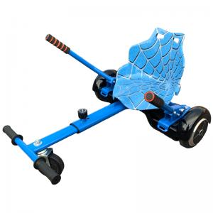 blue hoverkart