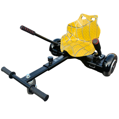 yellow hoverkart